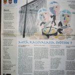 Karjala-aiheinen Juuret-runo Jaakkiman Sanomissa