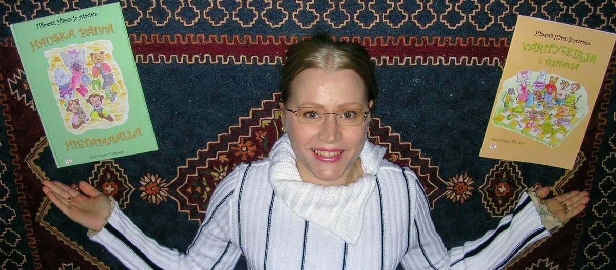 kirjailija Kirsi-Maria Hiltunen