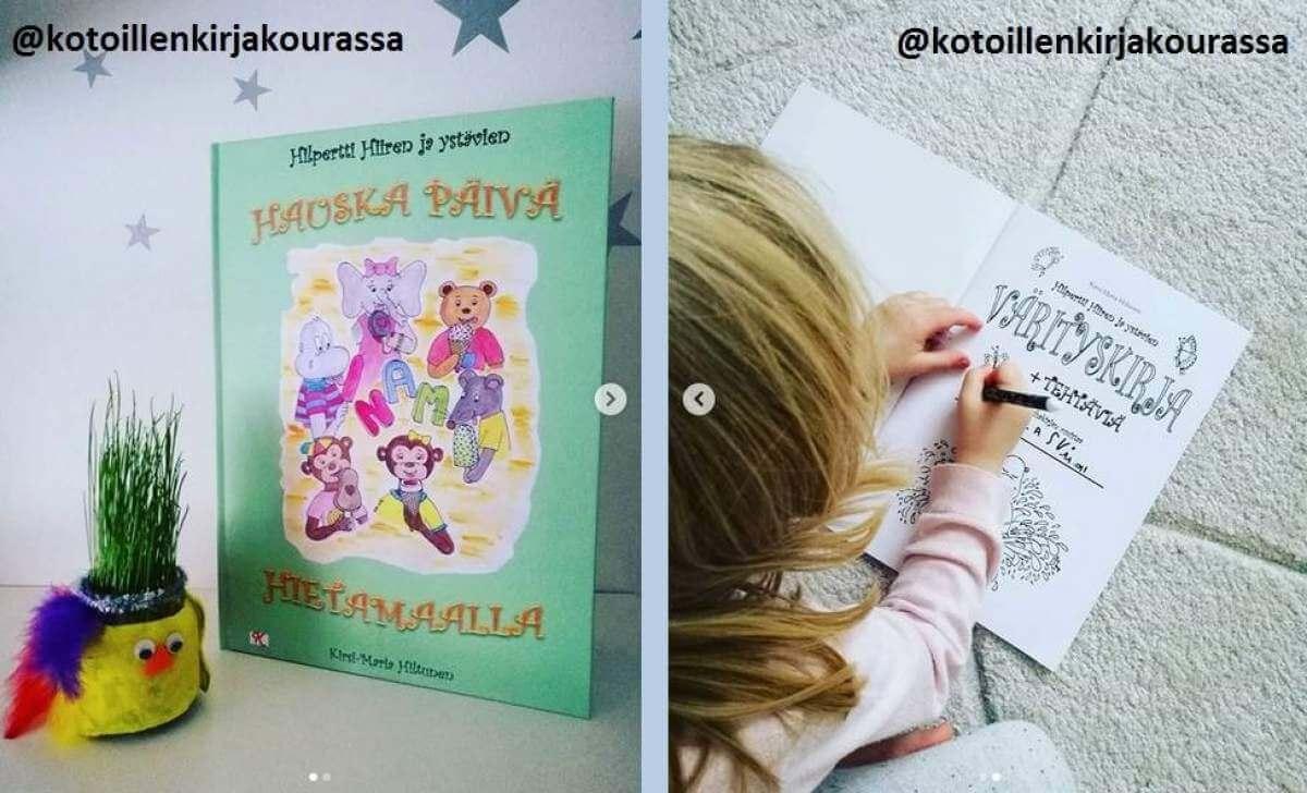 Vieraskynä: lastenkirja-arvostelu @kotoillenkirjakourassa