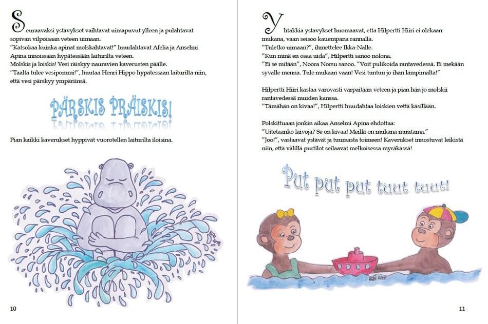 lumoavat lastenkirjat