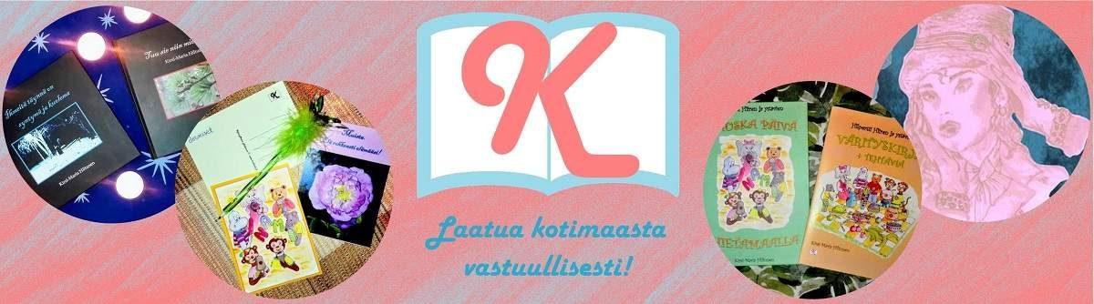 laadukkaita, kotimaisia kirjoja