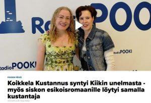 Marja Ollakka haasttattelu Radio Pookiin