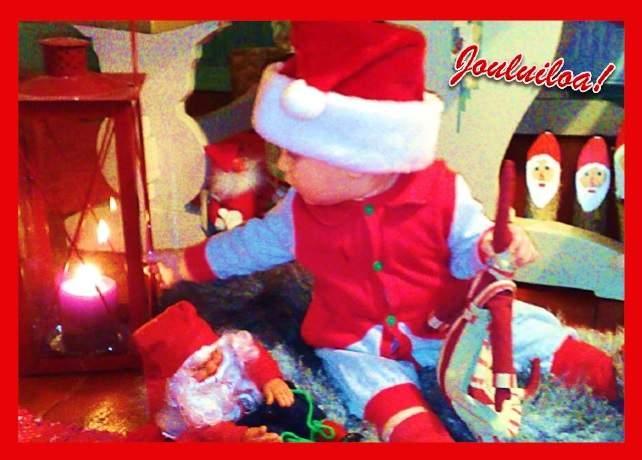 joulupostikortti