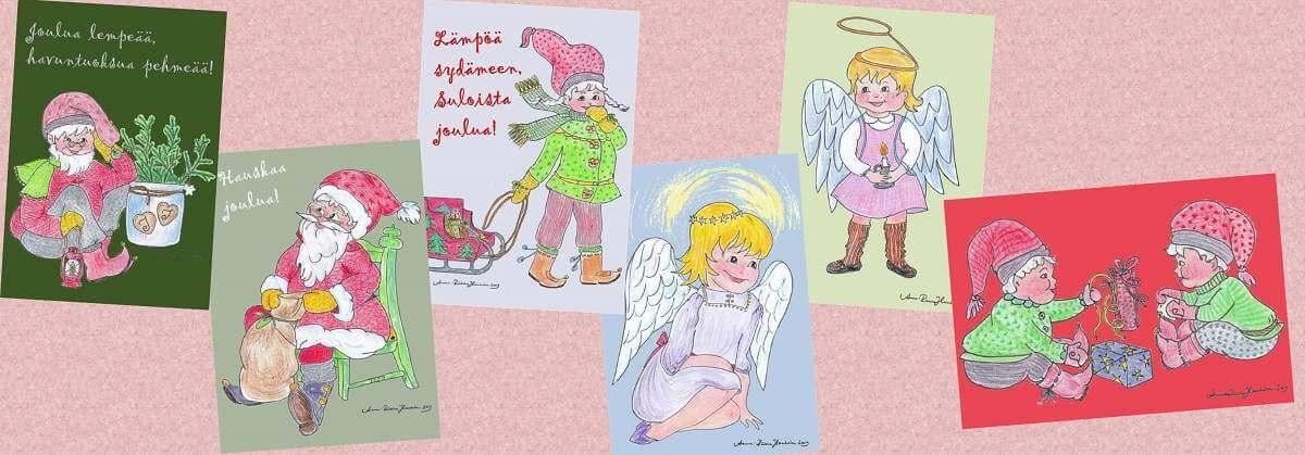 joulukortteja netistä