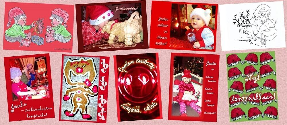 Kotimaiset Joulukortit