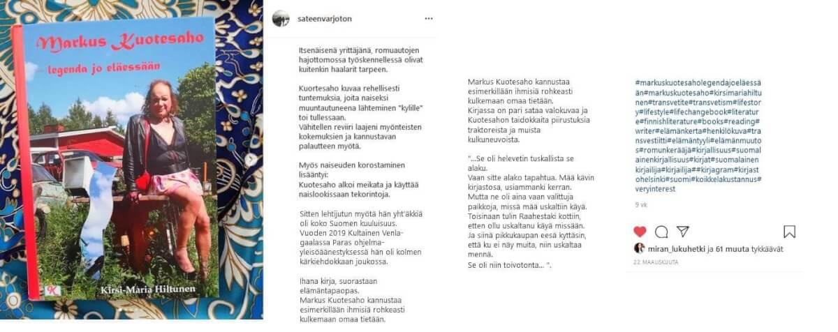 Markus Kuotesaho legenda jo eläessään
